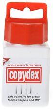 Copydex Glue Adhesive - 125ml Bottle - Natural Rubber Latex Craft Glue