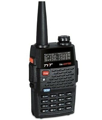 Three band TYT TH-UVF9D dual display 5W 136-174&350-400&400-480MHz two way radio