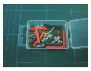 Expo A23000 - 10 x Micro Electrical Spade Connectors & Heat Shrink Set - 1stPost