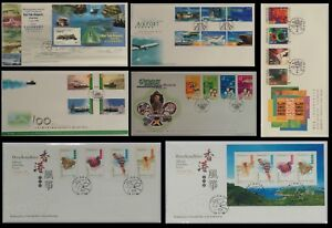 1998-Hong-Kong-stamp-set-HKpost-FDC-7-sets