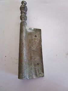 1 Ancienne Fiche à Larder-en Fer Forgé-antique Iron Door Hinges-18è Le Prix Reste Stable