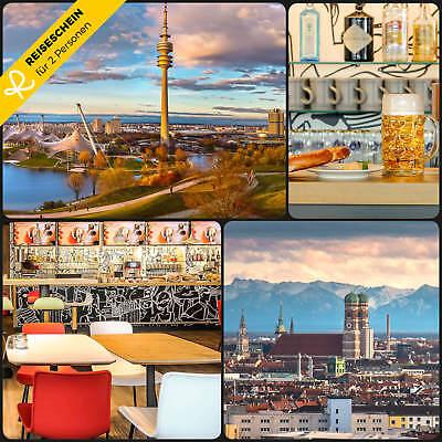 2 Tage 2p Üf 3★ Hotel Ibis München Messe Bayern Kurzurlaub Gutschein Reiseschein