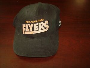 newest collection 63565 68d27 Image is loading PHILADELPHIA-FLYERS-NEW-ERA-1990-039-S-SCRIPT-