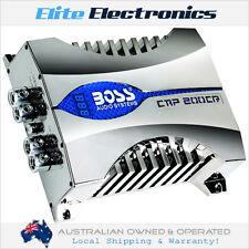 BOSS AUDIO CAP200CR 20 FARAD DIGITAL BLUE VOLTAGE DISPLAY HYBRID CAPACITOR POWER
