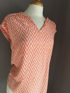St-Johns-Bay-Top-Womens-Blouse-Summer-Business-Casual-med-Peach