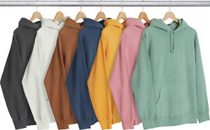 a00b846db87c Image is loading Supreme-Overdyed-Hoodie-Sweatshirt-SS17-Brown-Green-Pink-