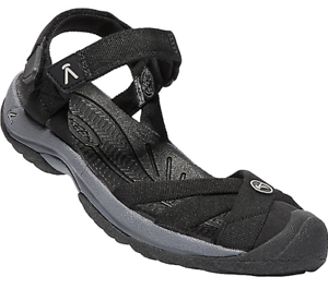 Keen Bali Strap Black//Steel Grey Ankle Strap Sandal Women/'s sizes 5-11 NEW!!!