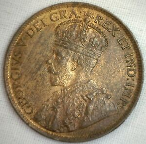1914 Large Cent Canada.
