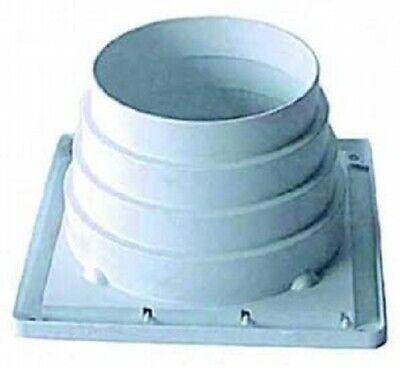 OUTSIDE STEPPED WALL WINDOW VENT VENTING HOSE ADPATER GRILLE KIT Parts
