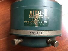 ALTEC  806A single driver working condition