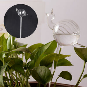 Snail-Glass-Watering-Flower-Planter-Vase-Container-Wedding-Garden-Decor