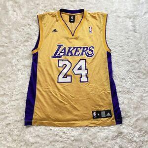 Adidas Kobe Bryant Size Medium Mens Adult Lakers Jersey Nba ...