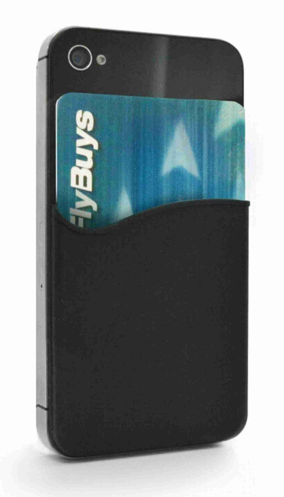 buy online 1fe16 746d9 Details about Smart Silicone Mobile Phone Wallet Card Stick On Cash Credit  Opal Card Holder