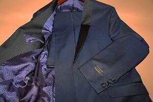 5cc8f20797b937 195 Ted Baker 'Josh' Trim Fit Navy Shawl Lapel Tuxedo Size 40 L ...