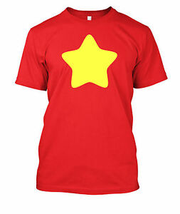 Steven-Universe-Yellow-Star-tshirt-t-shirt-tee-shirt-adult-and-Child-Sizes-VINYL