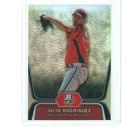 2012 BOWMAN PLATINUM PROSPECTS BASEBALL JULIO RODRIGUEZ ROOKIE #BPP77