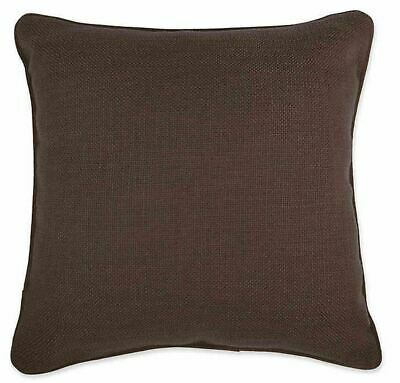 Make Your Own Pillow Dana 20 Inch X 20 Inch Throw Pillow Cover In Coffee Ebay
