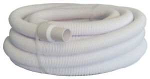 Swimming pool vacuum hose 1 5 50 foot length with swivel end 620009801752 ebay for Swimming pool vacuum hose ends