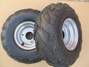 ATV-Quad-rear-wheels-pair-complete-145-70-6-suit-many-Chinese-quads-and-LT50