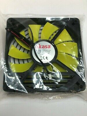 Akasa 80mm x 25mm Cooling Fan Medium Speed OEM Version