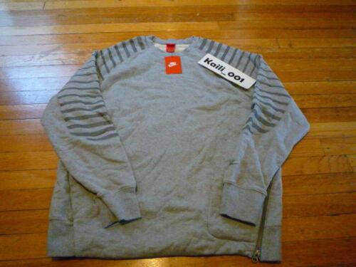 Xxl redondo Usatf campo 630948 063 Nike gris Tama Sportswear Pista o Ru Crew y B Cuello YxqqOBCzw
