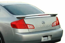 UNPAINTED REAR SPOILER FOR AN INFINITI G35 4-DOOR SEDAN FACTORY STYLE 2003-2006