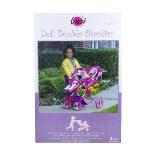 Twin Doll Stroller Lissi Dolls