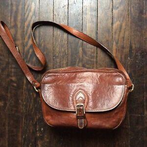 Emporio-Armani-Vintage-Saddle-Leather-Hand-Bag-With-Shoulder-Strap-11x8x3-5