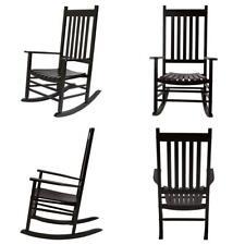 Excellent Shine Company 4332Bk Vermont Rocking Chair Black Pabps2019 Chair Design Images Pabps2019Com