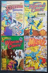 4-Australian-Superhero-Comics-Planet-Comics-1970-039-s-Superman-Batman-Aquaman