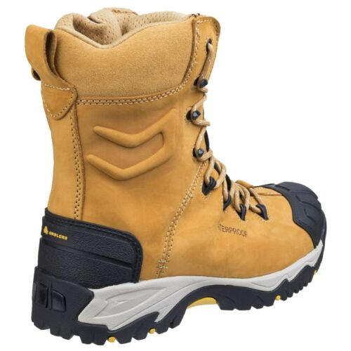 Amblers FS998 Pour Homme De Sécurité Imperméable Bottes Miel Lacets Steel Toe Cap UK6-14