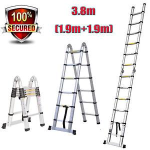 Muti Purpose Loft Step Ladder A Frame Retractable