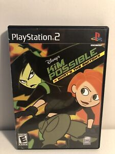Disney-039-s-Kim-Possible-What-039-s-the-Switch-Sony-PlayStation-2-Case-and-Manual-Only