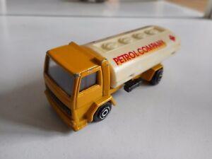 Majorette-Ford-Cargo-034-Petrol-Company-034-in-Yellow-White