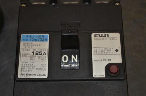 Fuji EGa203A Circuit breaker 125A INV=23673