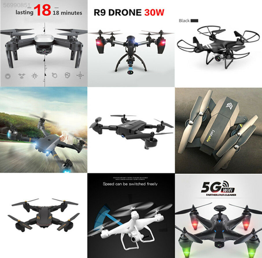 Selfie Drone 720P HD Camera 2.4G Wifi FPV RC Quadcopter Helicopter Toys 123D