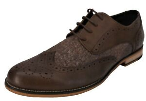 Brown Of Zapatos hombres para Herringbone Cavani House 4Z0qwCA