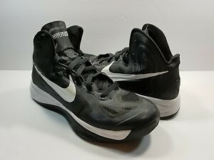 Image is loading Nike-Womens-Hyperfuse-TB-525021-001-Black-White- 62dc7fc4b8