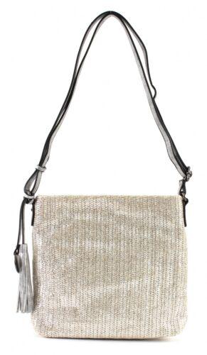 SURI FREY Phoeby Crossover Bag Umhängetasche Tasche Gold Gold Neu