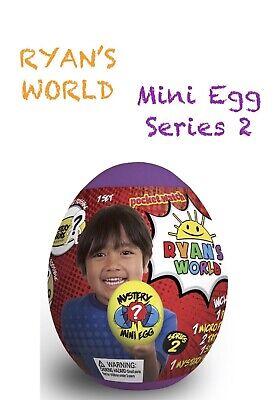 RYAN'S WORLD Mini Mystery Egg Purple Series 2