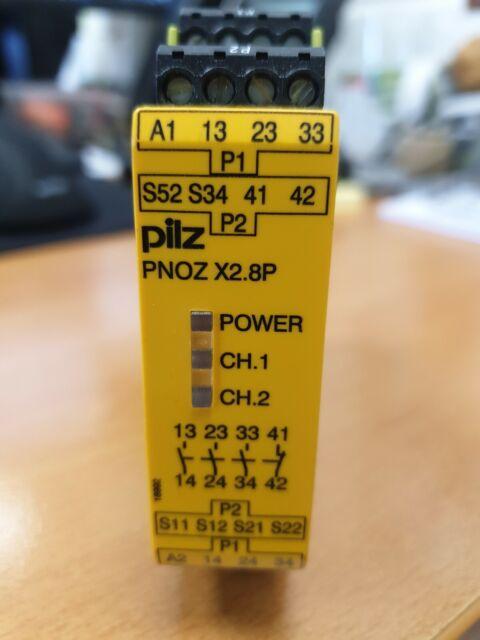 SAFETY RELAY PNOZ X2.9P 24VDC 3n//o 1n//c 777300 PILZ ID37043