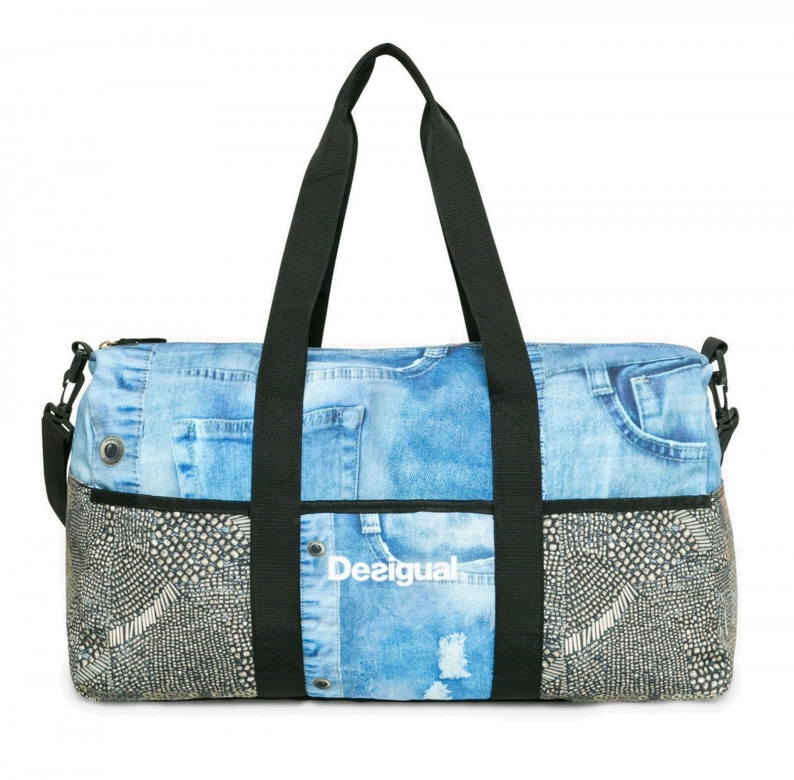 Desigual Travel Bag Bols Life Y gold Viejo
