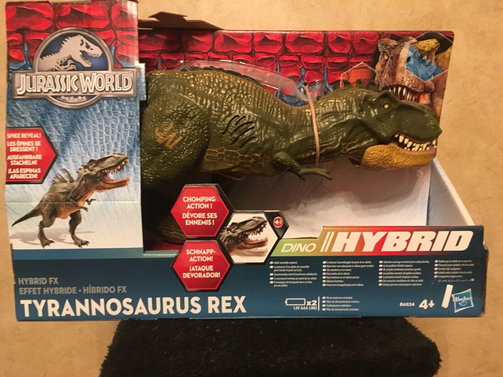 Tiranosaurio Rex Jurassic World híbrido