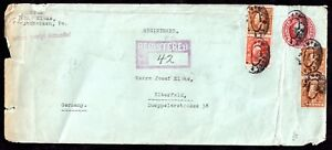 USA-1922-Registered-Cover-New-York-to-Germany-WS11565