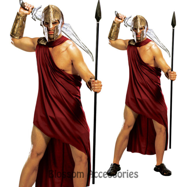 C993 Mens 300 Movie Spartan Greek Roman Fancy Dress Halloween Adult Costume