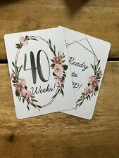 Harry Potter 20 Baby Milestone Cards Baby Shower Maternity Gift Photo Props Fun