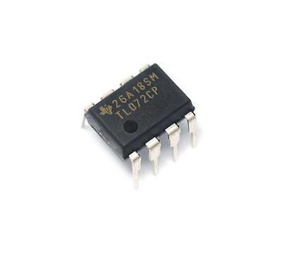 20PCS IC TL072CP TL072 DIP-8 chorus delay OP AMPS NEW