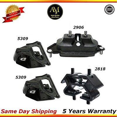 M777 Enigne Motor /& Trans Mount Set For 05-09 Buick Allure// Lacrosse 3.6L// 3.8L