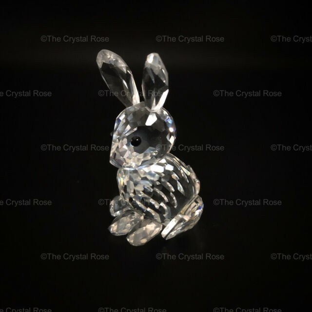 RARE Retired Swarovski Crystal Rabbit Mother 014850 Mint Boxed