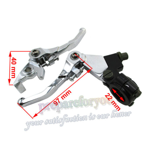 Brake Clutch Levers For SSR Taotao Roketa Coolster Chinese CRF XR KLX Dirt Bike
